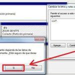 Cómo quitar la letra de unidad de una partición o disco duro en Windows