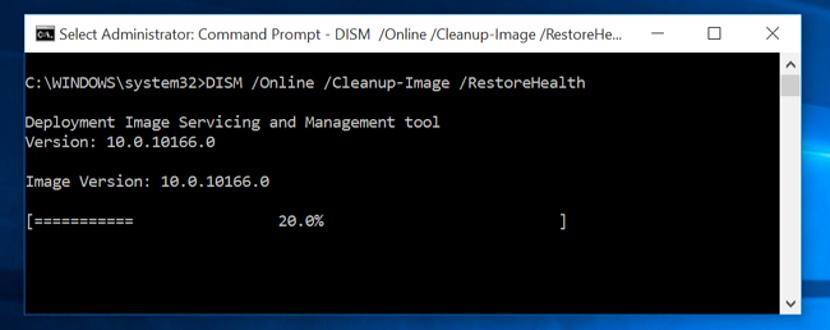 reparar archivos dañados en Windows 03