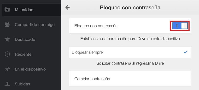 seguridad de 4 digitos en Google Drive 05