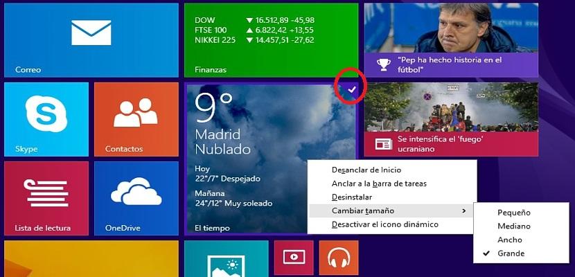 seleccion multiple en Windows 8.1