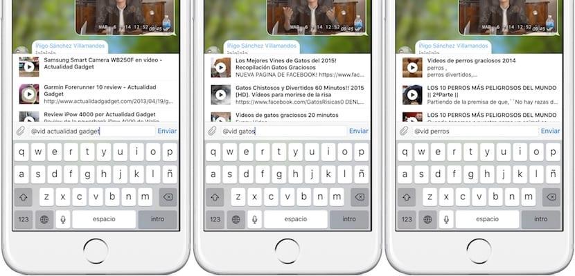 Uso de bots en Telegram