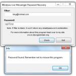 Cómo recuperar la clave olvidada de Live Messenger en Windows