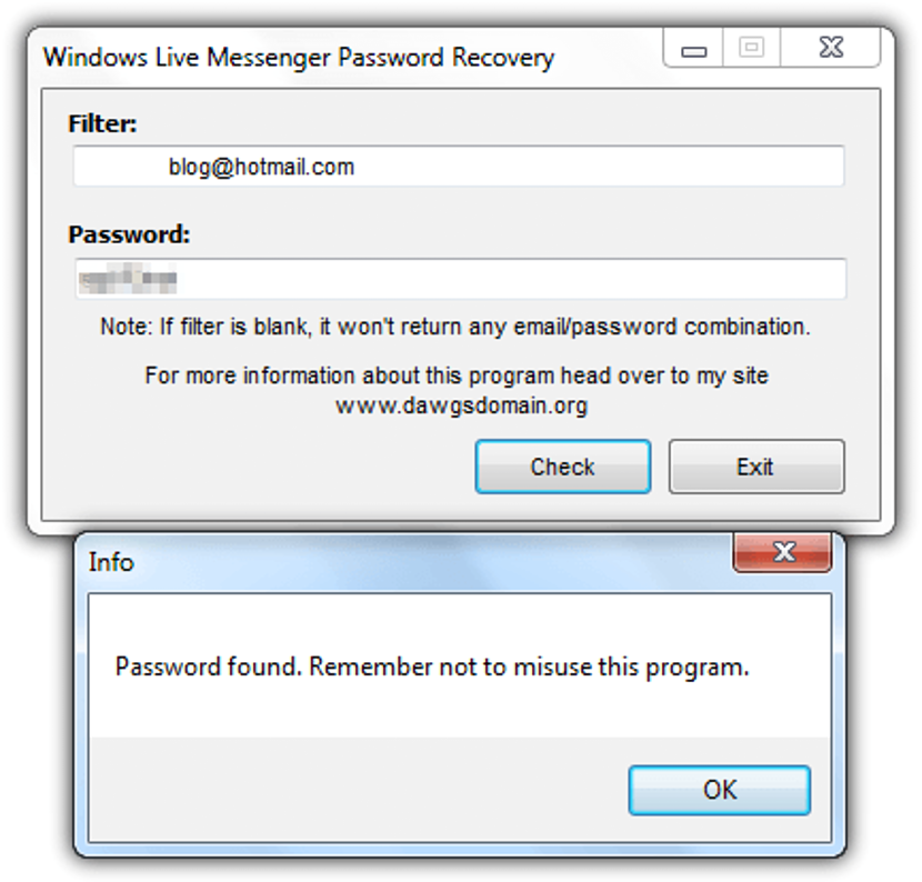 windows-live-messenger-password-recovery
